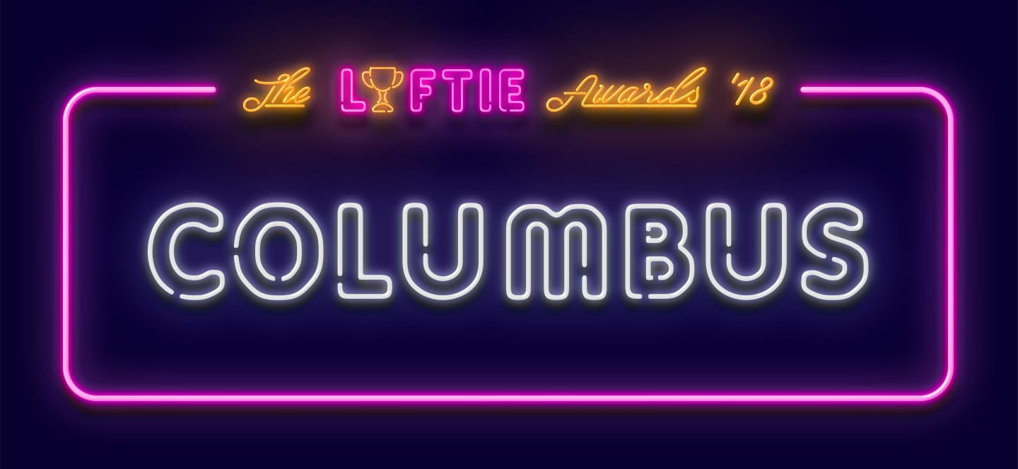 2018 Columbus Lyftie Award Winners